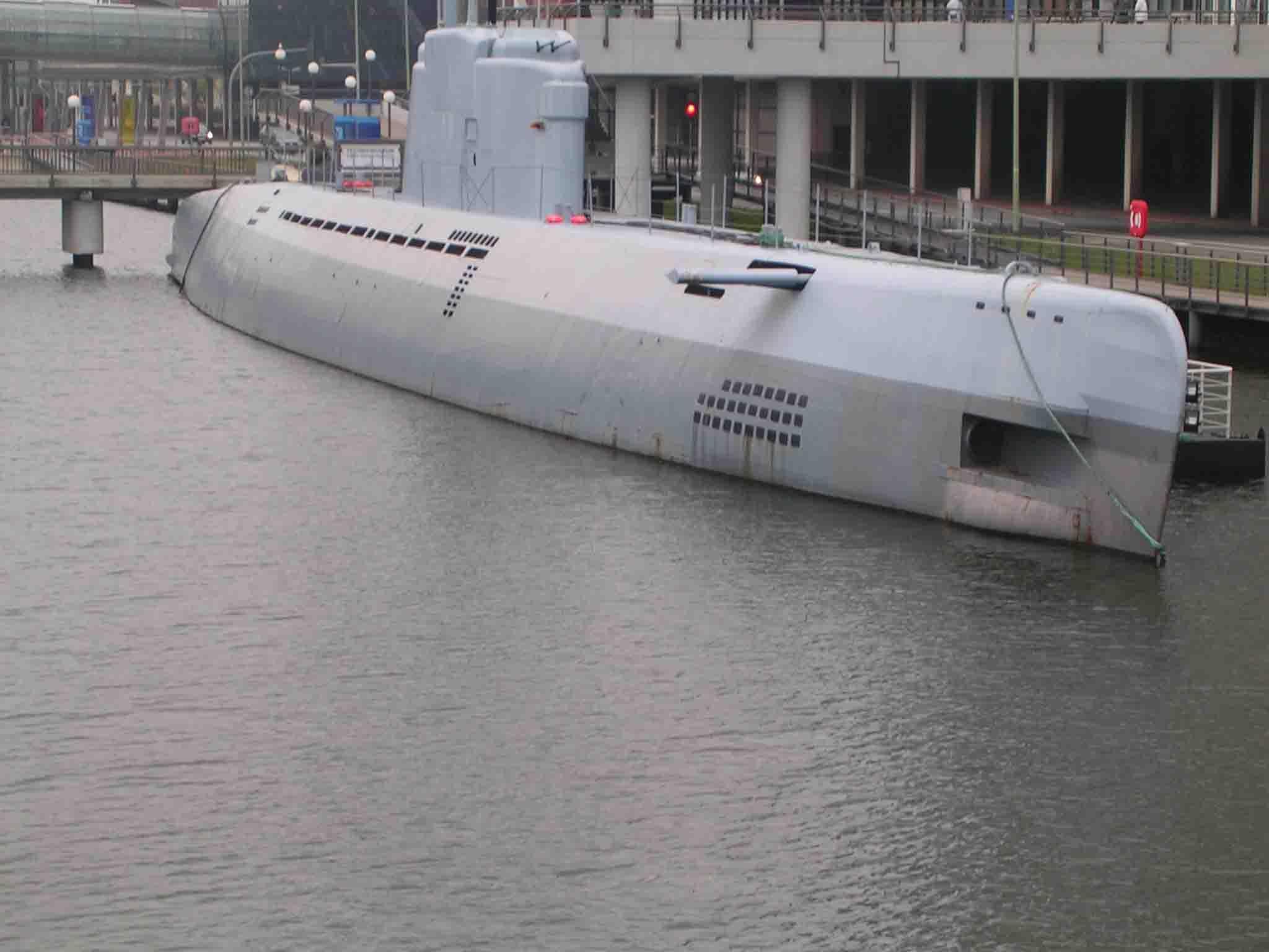 Dieses U-Boot können Leute ohne Platzangst besichtigen