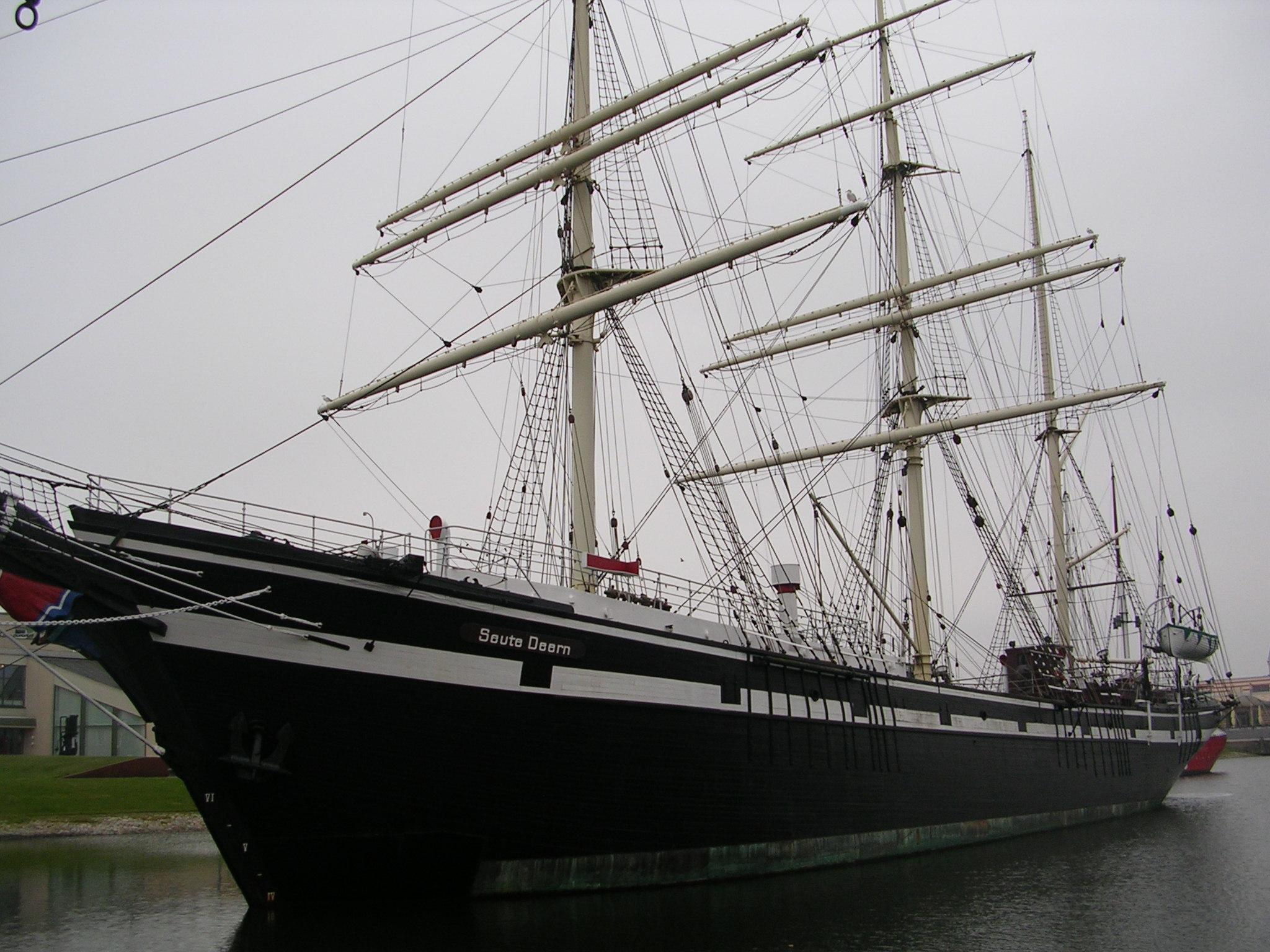 Die 'Seute Deern' im Museumshafen von Bremerhaven
