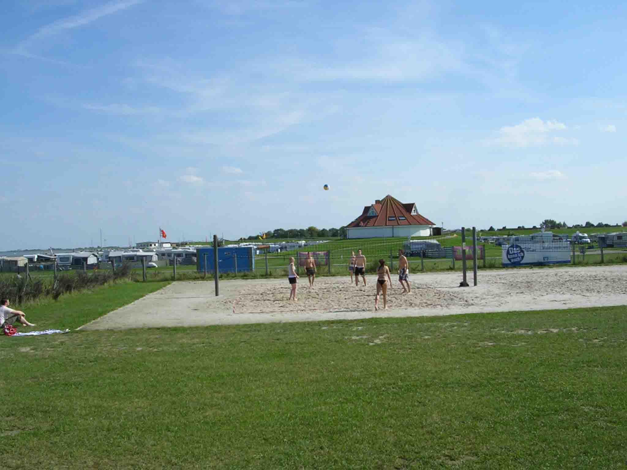 In der Lagune gibt es verschiedene Sportmöglichkeiten