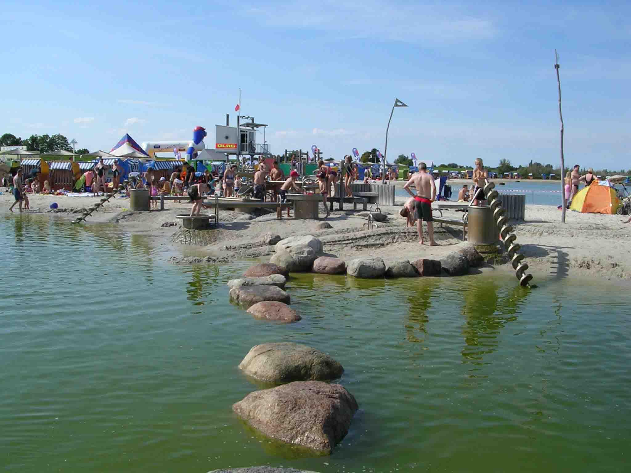 Der Wasserspielplatz