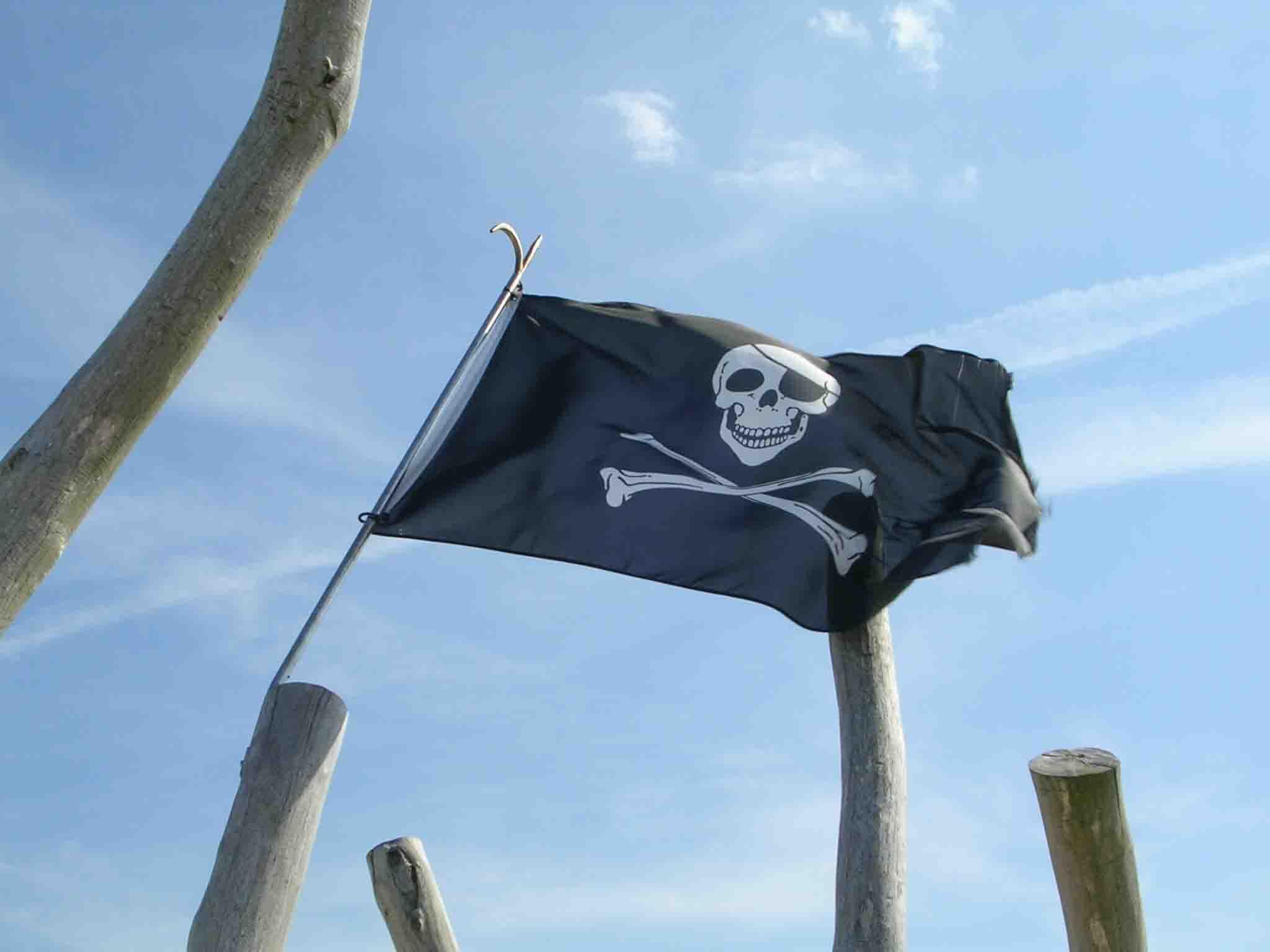 Piraten sind schon da....